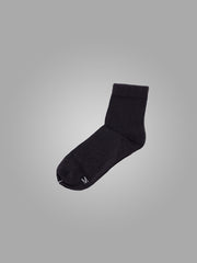 1/4 BLACK SOCKS