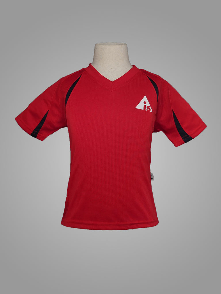 AIS LACHLAN HOUSE T-SHIRT <br> ( RED )