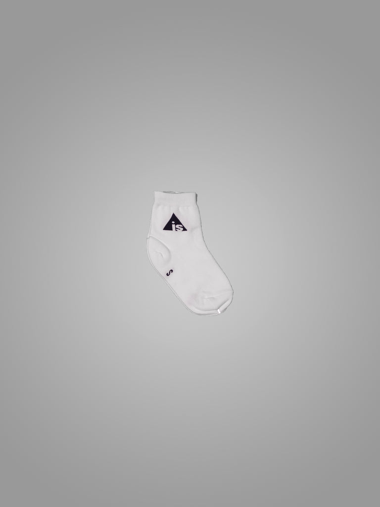 AIS WHITE SOCKS WITH LOGO