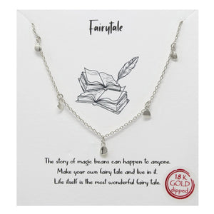 BITZ STORY: FAIRYTALE MINI DROP SIMPLE CHAIN NECKLACE