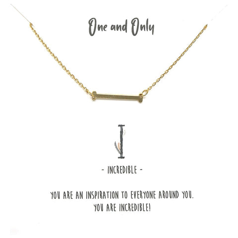 BITZ STORY: INITIAL SIMPLE CHAIN SHORT NECKLACES - all initials on this product!