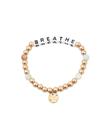 BITZ BREATHE MESSAGE BRACELET