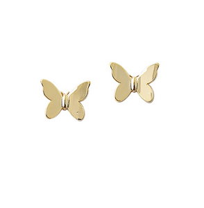 BITZ BUTTERFLY STUD 2.0 - perfect match to our  butterfly necklace TWO COLOR OPTIONS - GOLD OR SILVER