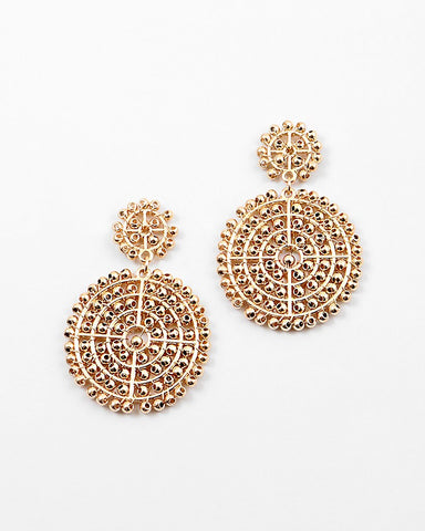 BITZ CUTOUT EARRING - TWO COLORS