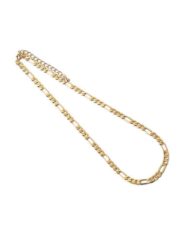 BITZ FIGARO  CUBAN CHAIN LINK GOLD NECKLACE