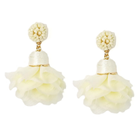 Flower Petals Statement Earring