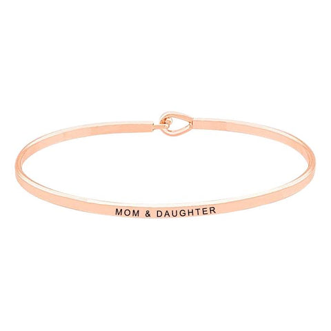 BITZ MOM + DAUGHTER MESSAGE BRACELET 3 COLOR OPTIONS