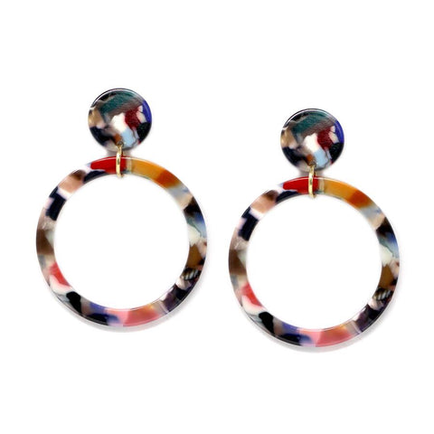 BITZ MARBLE DROP MINI SUMMER EARRING