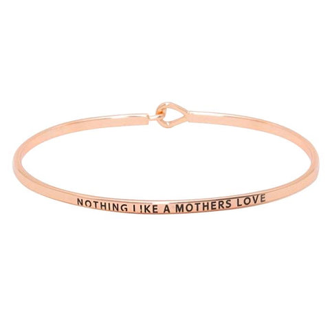 BITZ  MOTHER'S LOVE MESSAGE BRACELET 3 COLOR OPTIONS