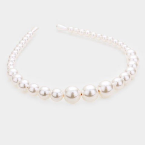 BITZ PEARL STATEMENT HEADBAND