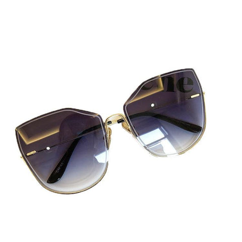 BITZ OVERSIZED OMBRÉ STATEMENT SUNNIES SUNGLASSES - IN STOCK! FOUR COLOR OPTIONS