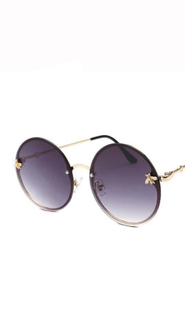 BITZ BEE ROUND SUNNIES RIMLESS - IN STOCK