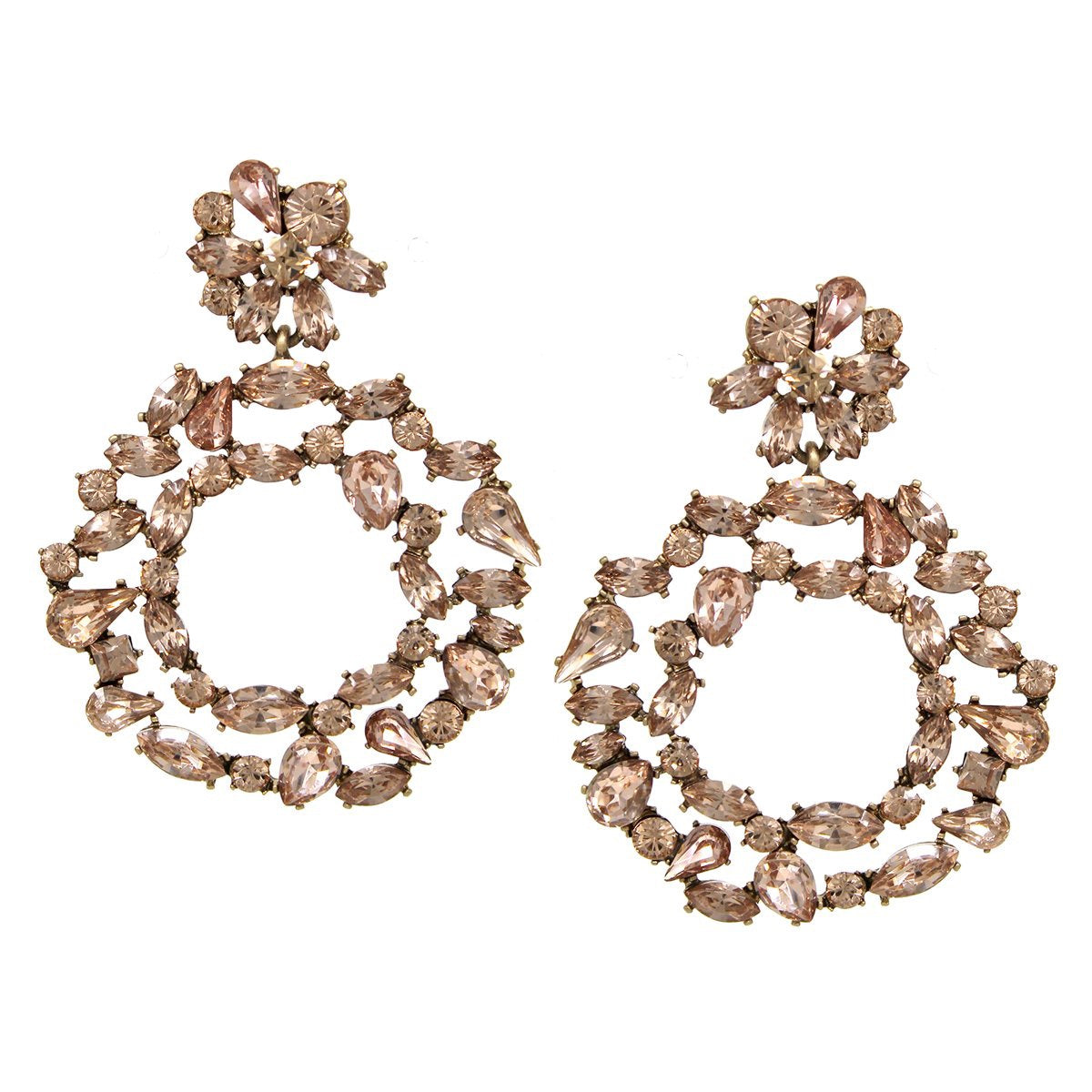 BITZ VINTAGE GLAM STATEMENT EARRING - IN STOCK!