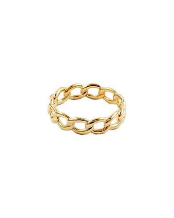 BITZ CUBAN LINK CHAIN RING SIZE 6,7,8,
