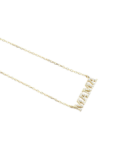 BITZ LE MAMA NECKLACE - 925 STERLING SILVER IN STOCK!