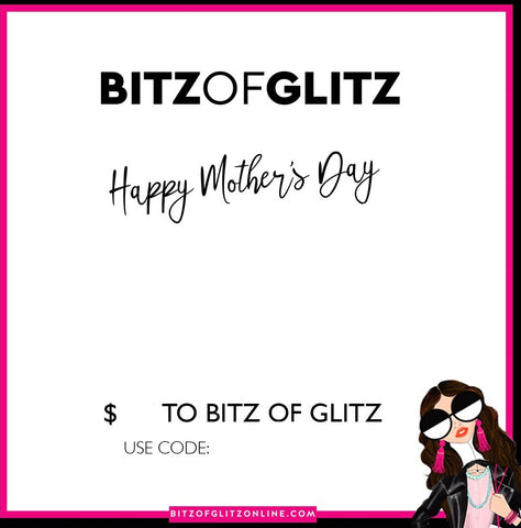 MOTHERS'S DAY GIFT CARD - $100