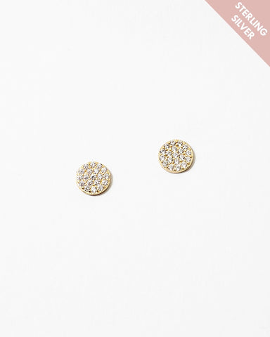 BITZ LUXE 925 PETITE STUD EARRING - TWO COLORS