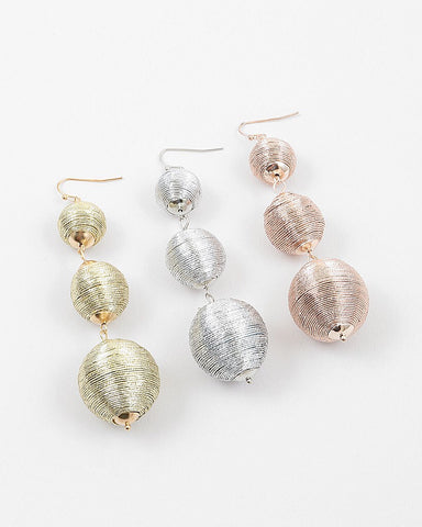 BON DROP DANGLE - METALLIC