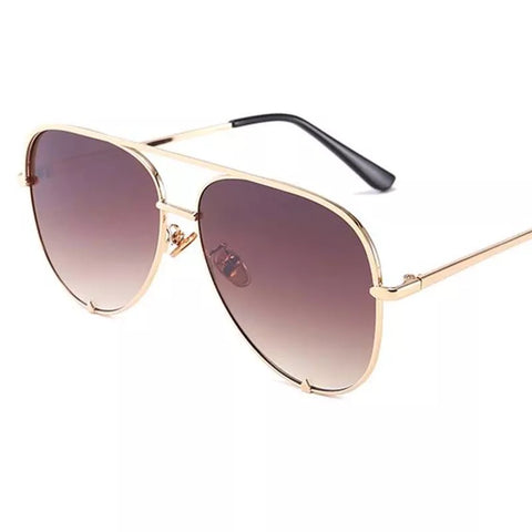 BITZ LUXE AVIATOR SUNNIES  CHAMPAGNE- IN STOCK!