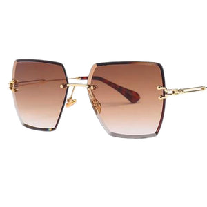 BITZ CRYSTAL RIMLESS SUNNIES SUNGLASSES - IN STOCK!
