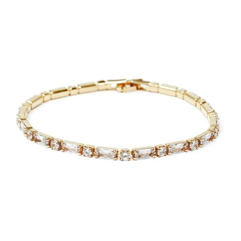 BITZ CZ PAVE DELICATE BRACELET - TWO COLOR OPTIONS