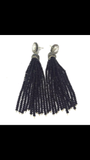 PEARL TASSEL EARRING - 3 color options