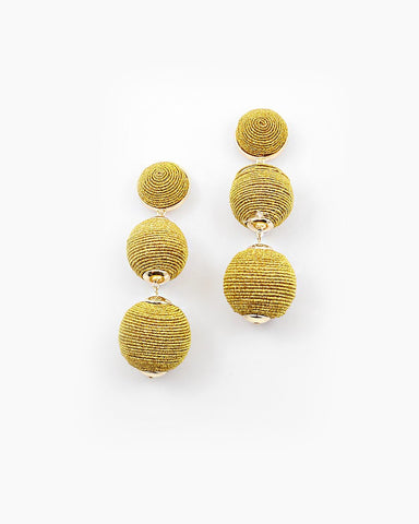 BON DROP EARRING - GOLD
