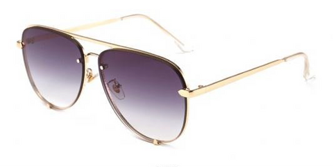 BITZ FALL OVERSIZED AVIATOR SUNNIES  SUNGLASSES - 3 COLOR OPTIONS