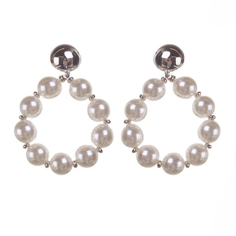 BITZ PEARL STATEMENT EARRING 2.0