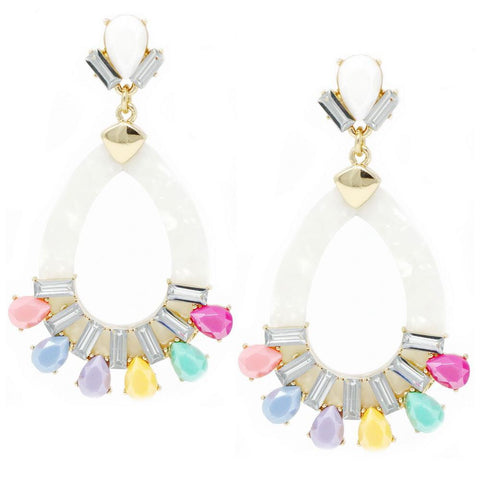 BITZ STATEMENT TEARDROP EARRING