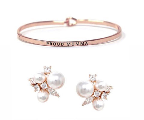 BITZ X MOMMY DICTIONARY MOTHERS DAY GIFT SET #1 ROSE GOLD