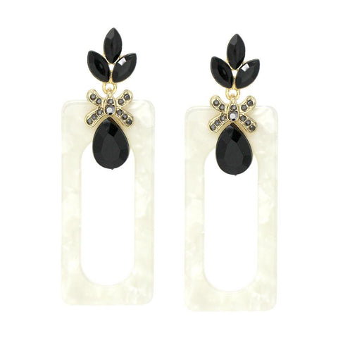 GLITZ N  GLAM FALL EARRING