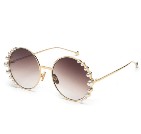 BITZ PEARL SUNNIES SUNGLASSES - OVERSIZED - IN STOCK!