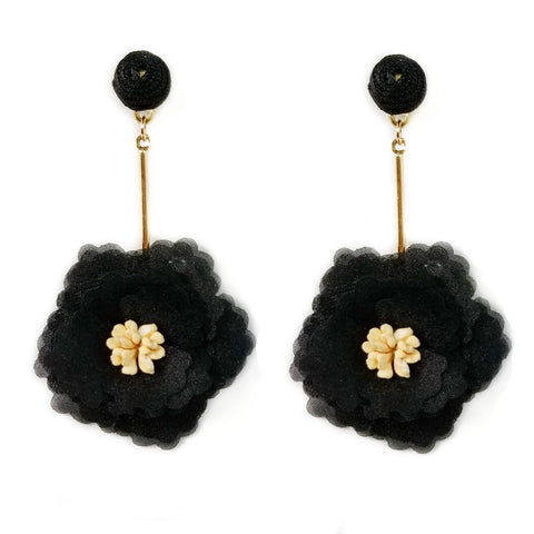 Blooming Flower Drop Earring