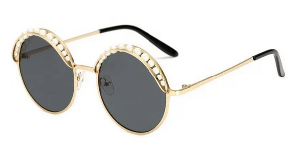 BITZ PEARL STATEMENT SUNGLASSES 6 COLORS