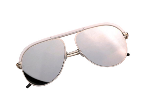 BITZ AVIATOR SUNNIES 2.0 WHITE - IN STOCK!