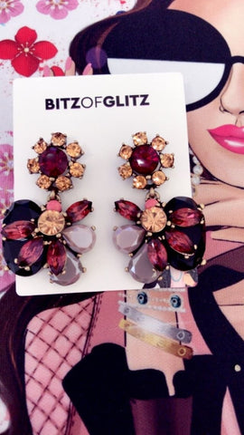 BITZ NEW STATEMENT EARRING