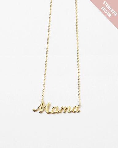 BITZ LE MAMA NECKLACE 2.0 - 925 STERLING SILVER
