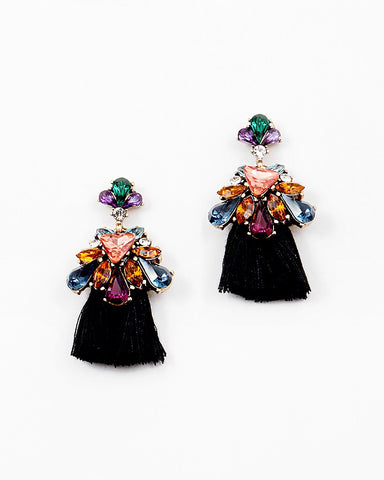 BITZ STATEMENT N TASSEL MINI EARRING