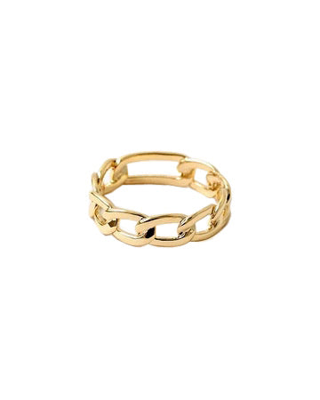 BITZ FIGARO CHAIN LINK RING SIZE 6,7,8