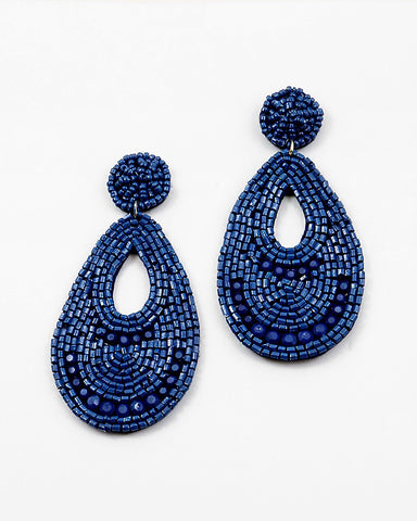 BITZ BOHO TEARDROP EARRING - TWO COLORS