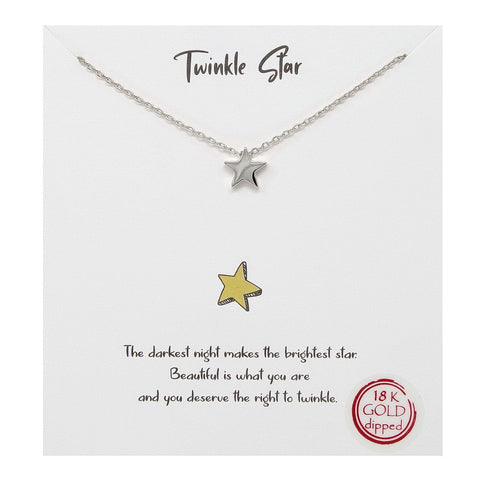 BITZ TWINKLE STAR NECKLACE