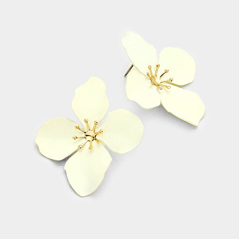 BITZ FLOWER STUD EARRING