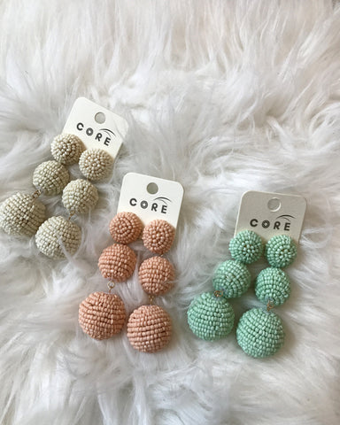 BON BON Earrings - Pastel