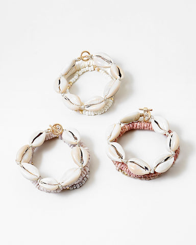 BITZ SHELL STRETCH BRACELET