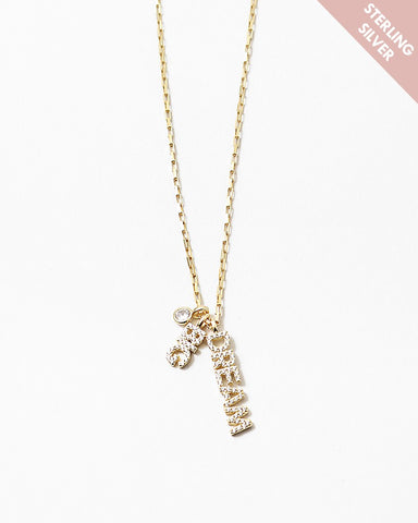 BITZ LUCKY CHARM NECKLACE - DREAM