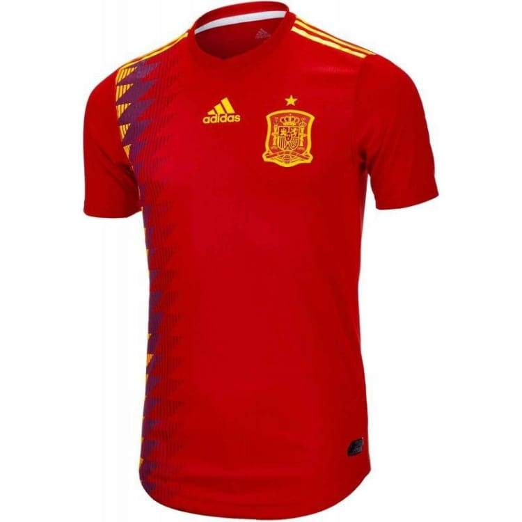 optcool.comAdidas 2018 World Cup Spain (H) Authentic Jersey BR2724adidas / XL / Red