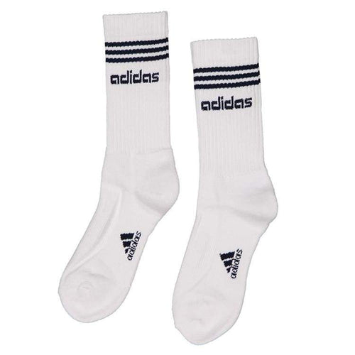 optcool.comAdidas 3 Stripes Socks WHT/NVY L25433adidas / EUR: 39-42 / WHITE