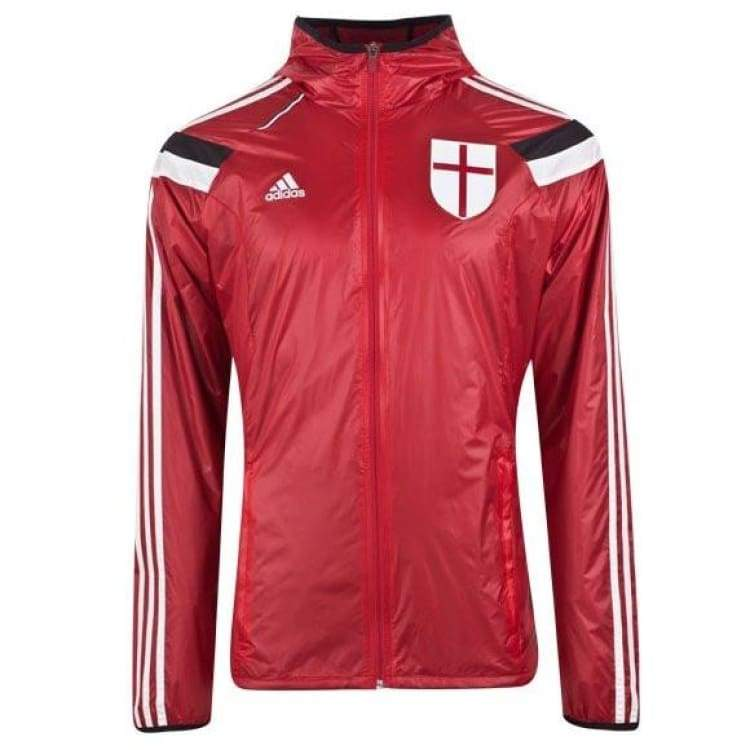 Jackets / Track: Adidas Ac Milan 14/15 Anth Jacket F85535 - Adidas / Red / L / 1415 Ac Milan Adidas Clothing Football |