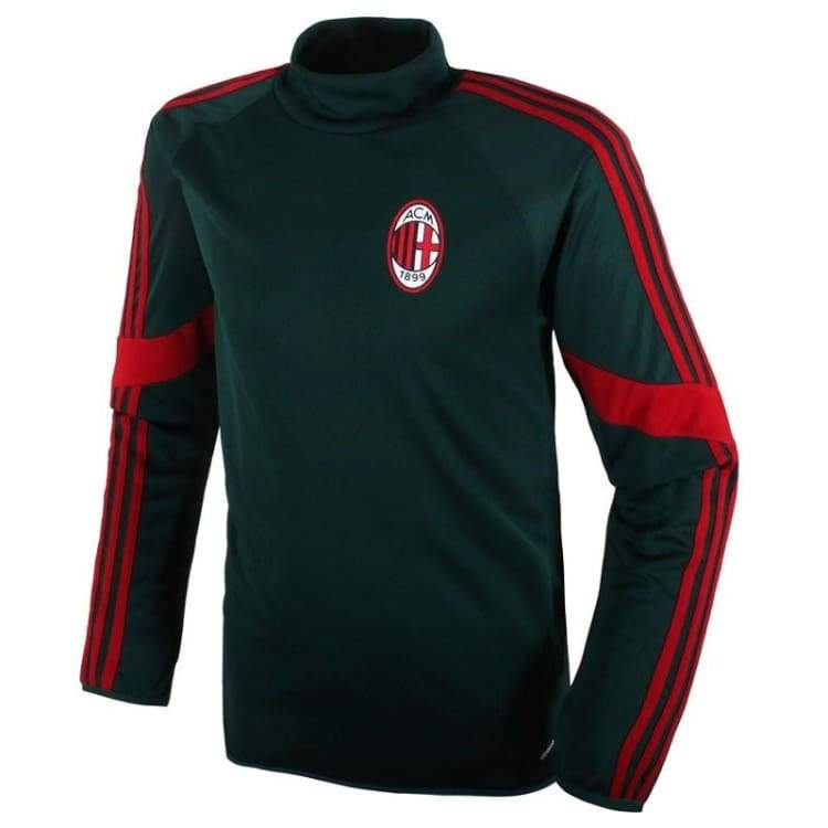 Tops / Warm Up: Adidas Ac Milan 14/15 Uefa Champions League Training Top F83896 - Adidas / S / Black / 1415 Ac Milan Adidas Black Clothing |